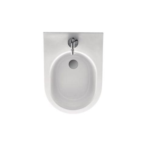 Bidet da bagno monoforo cm56 completo di fissaggio WB5N di Kerasan