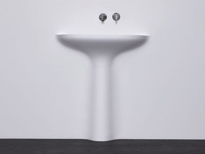 Lavabo lavandino da bagno modello Calice di Antoniolupi