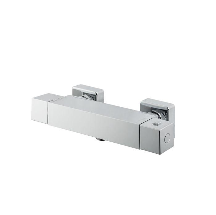 Miscelatore termostatico per doccia esterno Senza dotazione asta saliscendi di Vema
