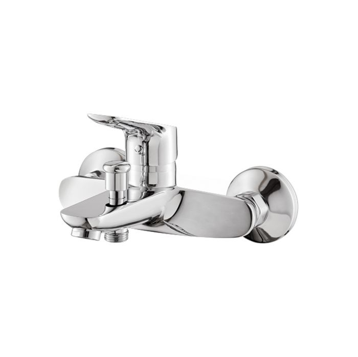 Miscelatore monocomando vasca esterno con deviatore automatico vasca/doccia della collezione Indo di Vema