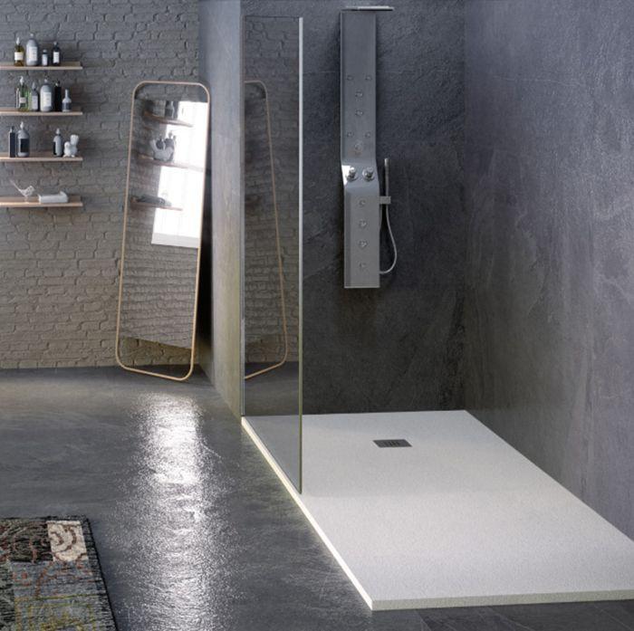 piatto doccia in marmo resina pietralux della collezione Hous