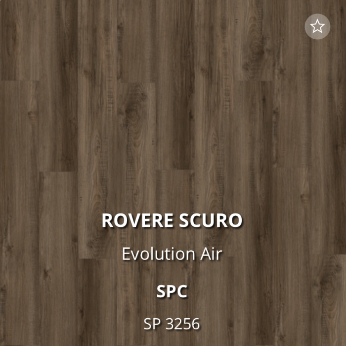 Pavimento EVOLUTION Air SPC di Virag-Rovere scuro SP 3256