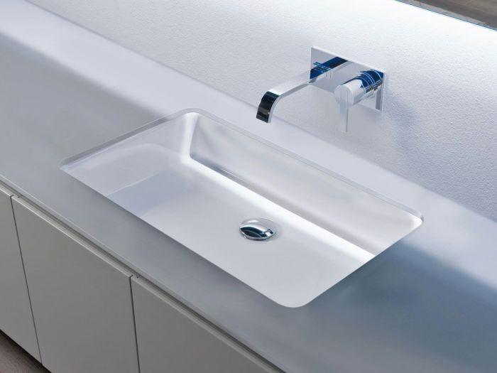 Lavabo lavandino da bagno modello Servoretto63 di Antoniolupi