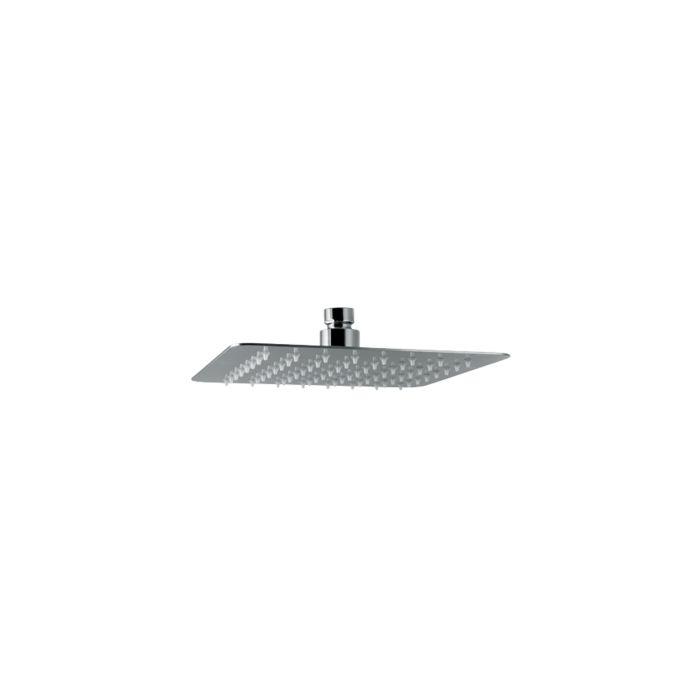 Soffione ultraslim doccia quadrato con getto a pioggia mm 20 / 25 / 30 / 40 cm Di Vema