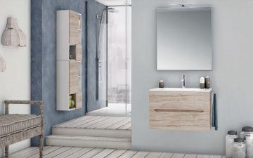 Composizione per arredo bagno Afrodite di Italian BC variante 01