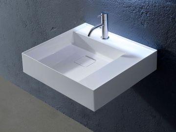 Lavabo lavandino da bagno modello Graffio54 di Antoniolupi