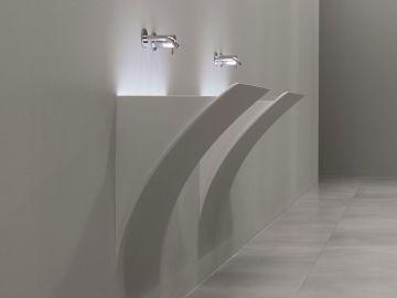 Lavabo lavandino da bagno modello Strappo di Antoniolupi